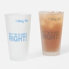 left handed copy Drinking Glass