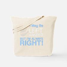 left handed copy Tote Bag