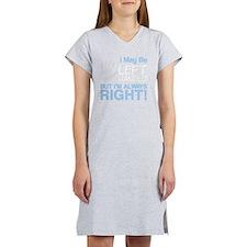 left handed copy Women's Nightshirt