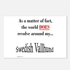 Vallhund World Postcards (Package of 8)