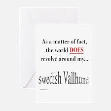 Vallhund World Greeting Cards (Pk of 10)