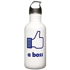 Like a boss Water Bottle