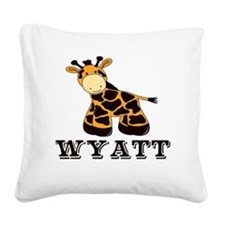 wyatt Square Canvas Pillow