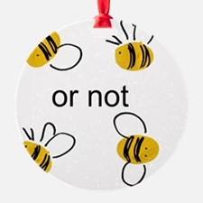 2 bee Ornament