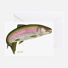 Rainbow Trout 1 Greeting Card