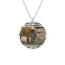 River Hog Necklace