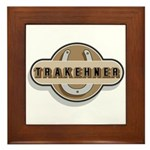 Trakehner Horse Framed Tile