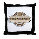 Trakehner Horse Throw Pillow