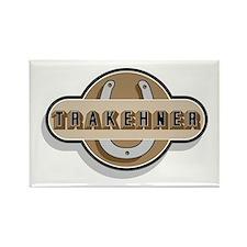 Trakehner Horse Rectangle Magnet