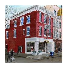 Winter in Greenwich Village Tile Coaster
