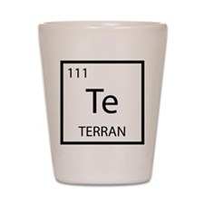 The Terran Element Shot Glass