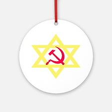 Russian Jewish Pride Ornament (Round)