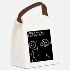 Humorous,Funny T-Shirts Canvas Lunch Bag