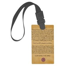 Riot Act copy Luggage Tag