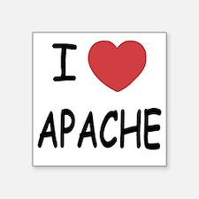 """APACHE Square Sticker 3"""" x 3"""""""