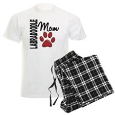 D Labradoodle Mom 2 Pajamas