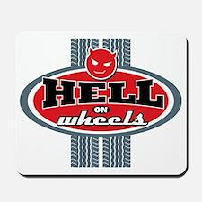 Hell_on_Wheels Mousepad