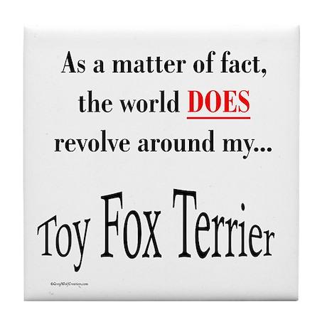 Toy Fox World Tile Coaster