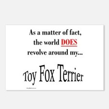 Toy Fox World Postcards (Package of 8)