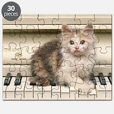 Piano kitty shirt Puzzle