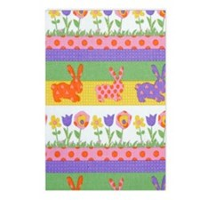 Bunny Flower Postcards (Package of 8)