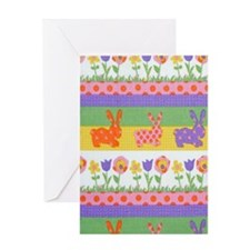 Bunny Flower Greeting Card