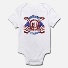 American to the Bone Infant Bodysuit