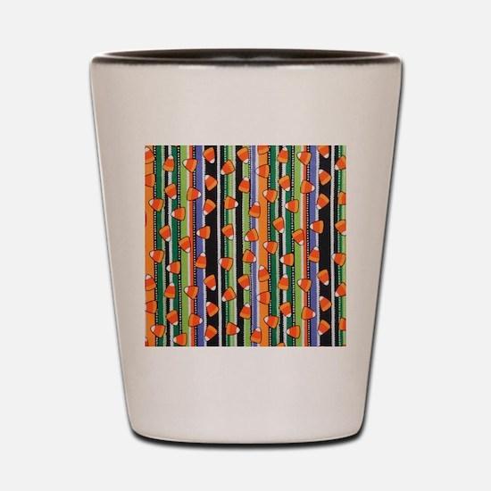 Candy Corn Stripe Shot Glass
