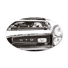 cp lfp 1967 GTO Oval Car Magnet