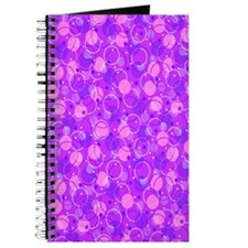 Circles and Dots on purple Journal