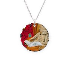 readingbear.ornament Necklace Circle Charm