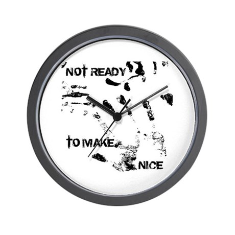 NOT READY Wall Clock