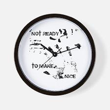 NOT READY Wall Clock