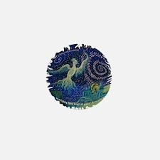 bird psyche Mini Button