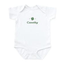 """Shamrock - Cassidy"" Infant Bodysuit"