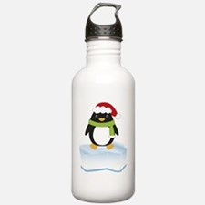 Eddy Penguin_10x10 dar Water Bottle