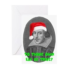 To Thine Own Elf Be True Greeting Card