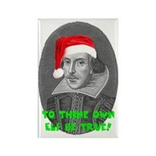 To Thine Own Elf Be True Rectangle Magnet