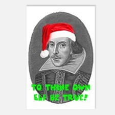 To Thine Own Elf Be True Postcards (Package of 8)