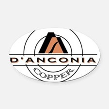 DAnconia Classic Oval Car Magnet