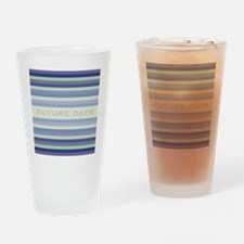 Future Days square Drinking Glass