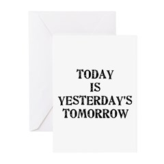 Today is... Greeting Cards (Pk of 10)