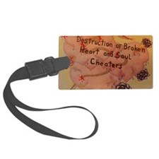 Destruction of Broken Heart Luggage Tag