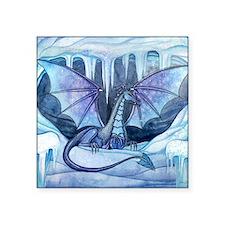 """ice dragon square cp Square Sticker 3"""" x 3"""""""