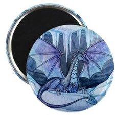 ice dragon square cp Magnet