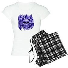 scull t-shirt blue cp ts Pajamas