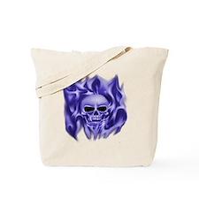 scull t-shirt blue cp ts Tote Bag