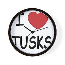 TUSKS Wall Clock