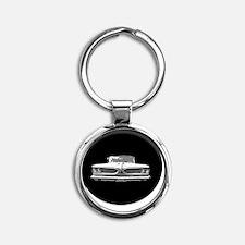 59 Pontiac cp  Round Keychain