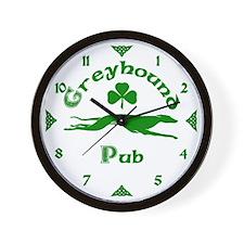 Greyhound Pub Wall Clock